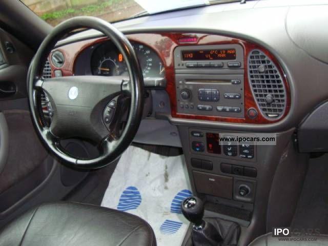 1998 Saab 9-3 Convertible 2.0 Turbo SE - Car Photo and Specs