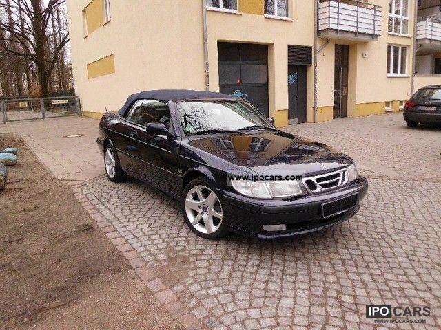 2001 Saab 9 3 2 0i Se T Convertible Design Edition Cabrio Roadster