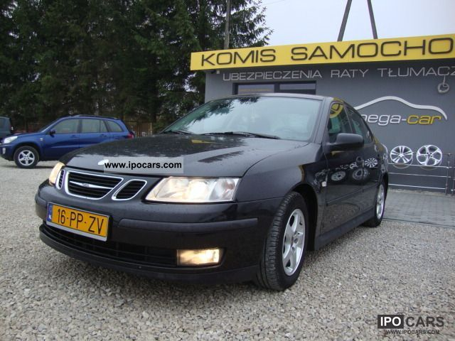 2004 Saab  9-3 1.8 16 V + BENZYNA GAZ (G3) OPLACONY Small Car Used vehicle photo