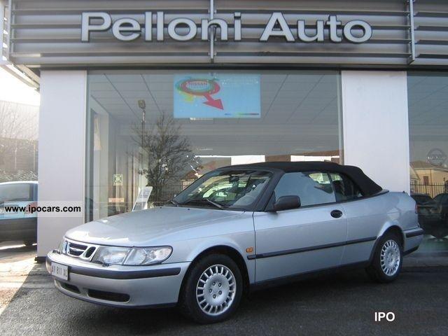 1998 Saab  9-3 convertible Convertible 2.0 SE 2 porte Limousine Used vehicle photo