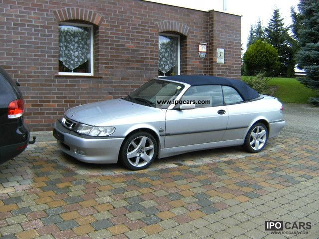 2003 saab 9 3 turbo convertible classic edition car photo and specs. Black Bedroom Furniture Sets. Home Design Ideas