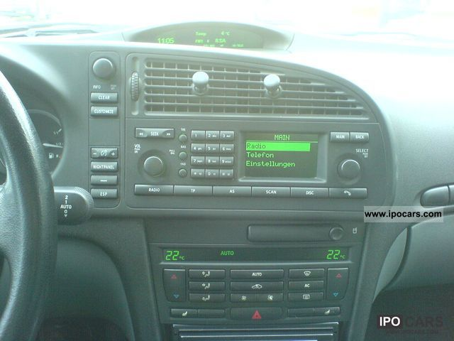 2004 Saab 9 3 Vector 1 8 T Xenon Navigation Phone Wr Car Photo And Specs