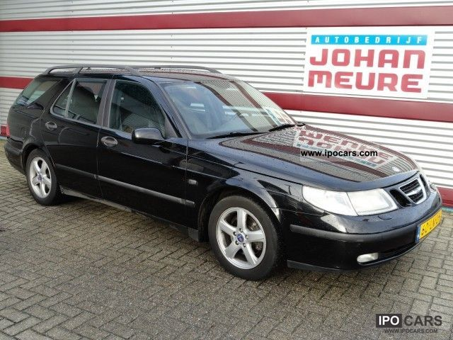 Saab  9-5 Estate 2.3T Turbo 185Pk Automaat LPG G3 2003 Liquefied Petroleum Gas Cars (LPG, GPL, propane) photo