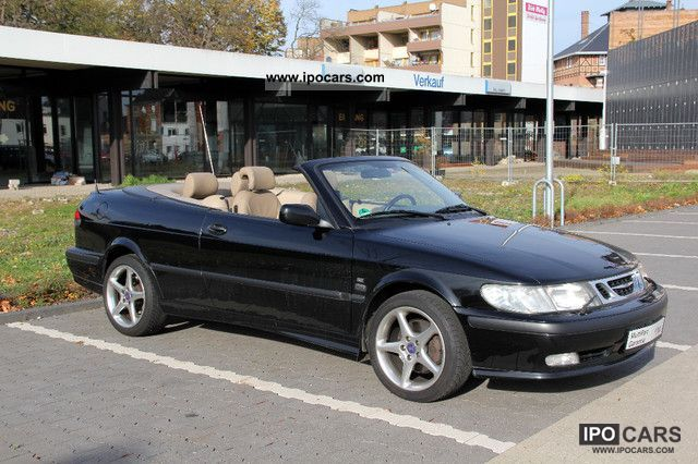 2002 Saab 9 3 2 0i Se Turbo Convertible Cabrio Roadster Used Vehicle Photo