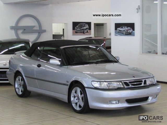 2001 saab 9 3 turbo convertible aero air leather 17 car photo and specs. Black Bedroom Furniture Sets. Home Design Ideas