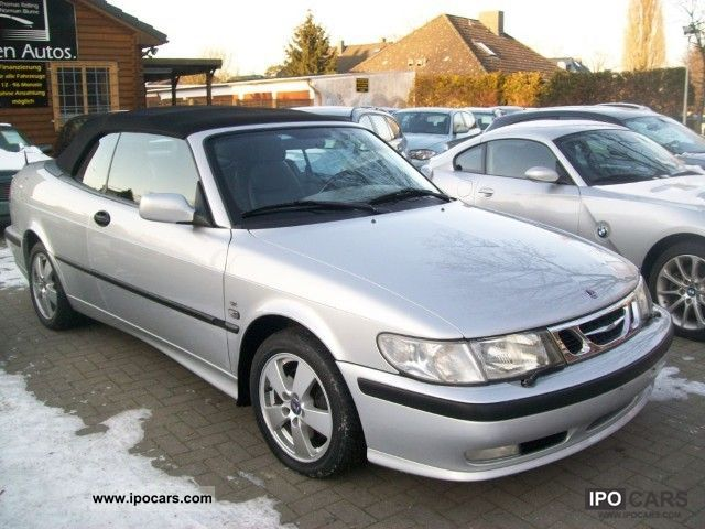 2002 Saab  9-3 Convertible 2.0t Cabrio / roadster Used vehicle photo