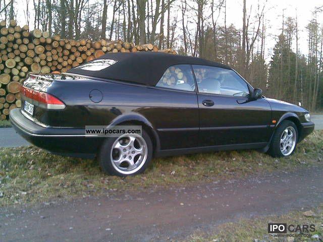1995 saab 900 2 3 se cabriolet car photo and specs. Black Bedroom Furniture Sets. Home Design Ideas
