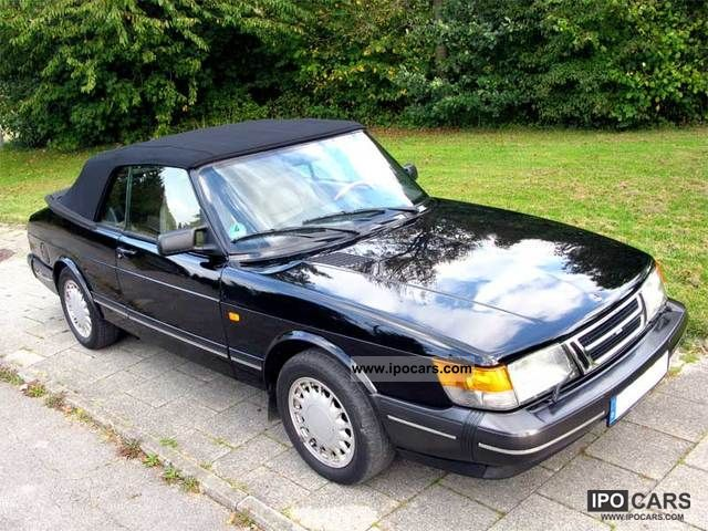 1991 saab 900 turbo cabriolet 16 car photo and specs. Black Bedroom Furniture Sets. Home Design Ideas