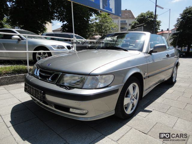 2002 Saab 9-3 2 0i SE CONVERTIBLE 1 Hd * t * CDR * AIR * LEATHER