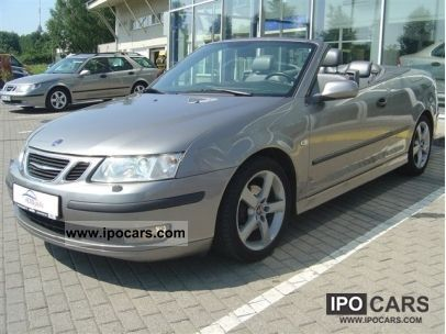 2004 Saab  9-3 convertible 1.8 t vector Cabrio / roadster Used vehicle photo