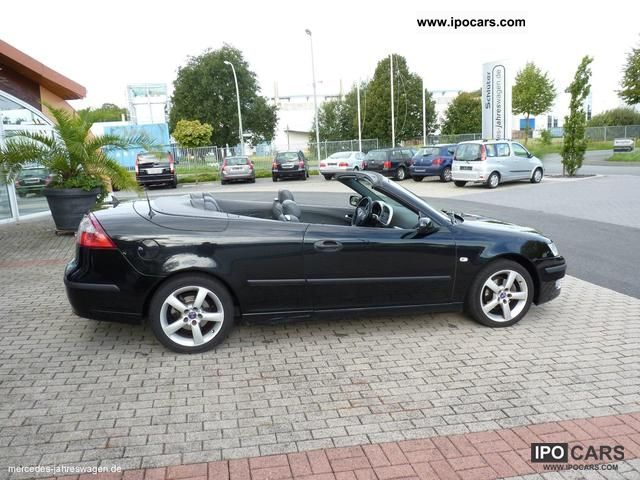 2004 saab 9 3 convertible 2 0 t vector automatic unaufbereitet car photo and specs. Black Bedroom Furniture Sets. Home Design Ideas