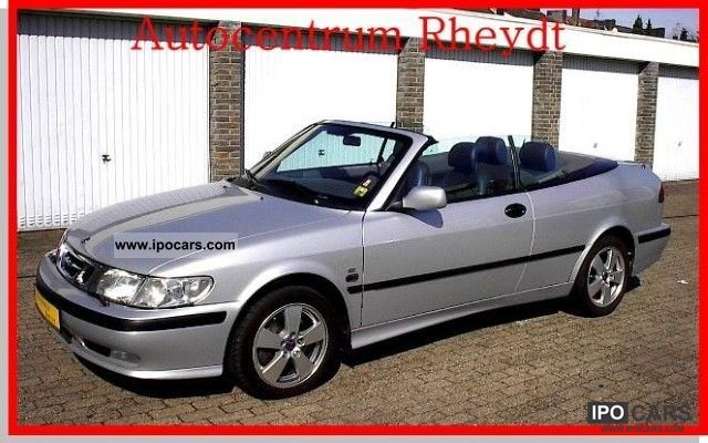 2002 Saab 9 3 Convertible Se 2 0i Leather T 1 Hd