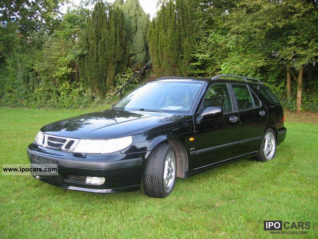 1999 saab 9 5 2 3 aero turbo combi car photo and specs. Black Bedroom Furniture Sets. Home Design Ideas