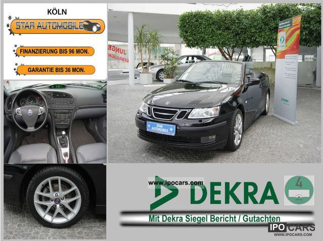2004 Saab  9-3 Vector 8.1 tCabrio * LEATHER * SITZHEIZ. * XENON * PDC Cabrio / roadster Used vehicle photo