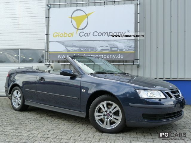 2007 Saab  9-3 1.9 CABRIOLET AUTO, LEATHER, NAVI, XENON, F1 Cabrio / roadster Used vehicle photo
