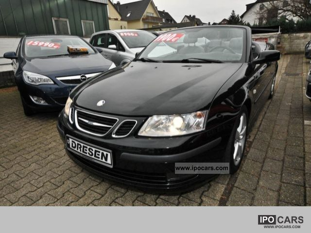 2004 Saab  9-3 Vector 1.8 Automatic Leather, Navigation, Cabrio / roadster Used vehicle photo