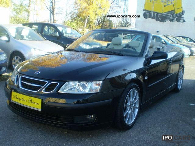 2005 Saab  9-3 1.8 t cabriolet leather - Navi - Pdc Cabrio / roadster Used vehicle photo