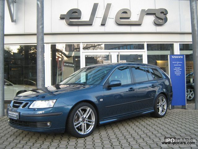 Saab  9-3 2.8 Turbo V6 Sport Wagon Aut. Aero NAV + LEATHER 2005 Liquefied Petroleum Gas Cars (LPG, GPL, propane) photo