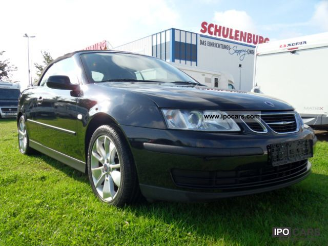 2006 Saab  9-3 convertible 1.8 t linear deer / full leather Cabrio / roadster Used vehicle photo