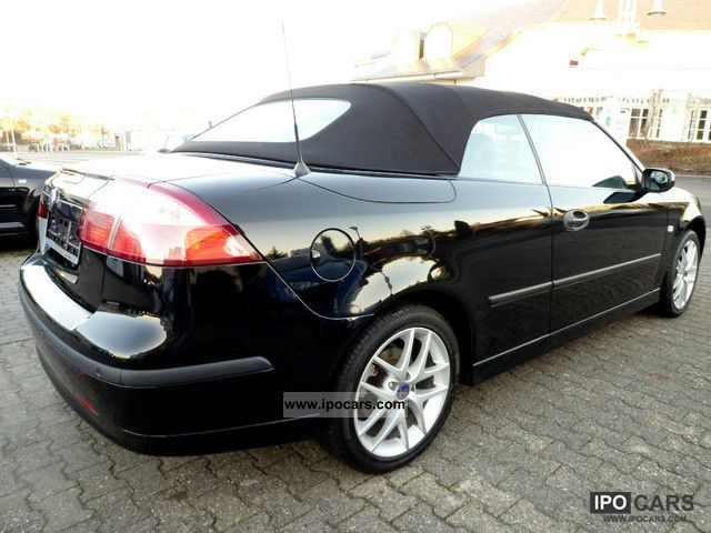 2006 saab 9 3 convertible 1 8 t leather climate. Black Bedroom Furniture Sets. Home Design Ideas