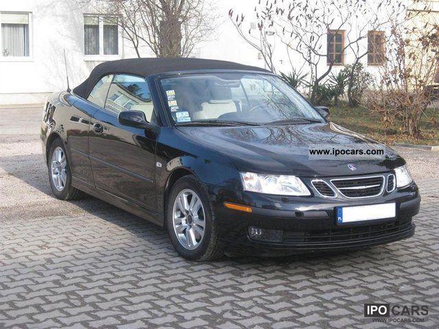 2006 saab 9 3 convertible 2 0 turbo car photo and specs. Black Bedroom Furniture Sets. Home Design Ideas