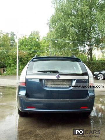 2007 Saab 9-3 1.9 TiD Sport wagon with diesel particulate filters ...