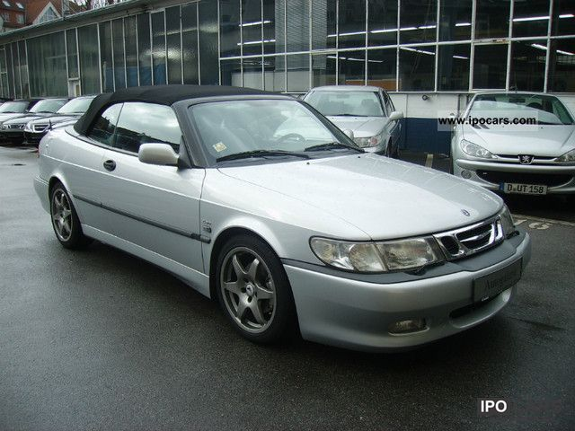 2001 saab 9 3 turbo aero convertible hirsch performance car photo and specs. Black Bedroom Furniture Sets. Home Design Ideas