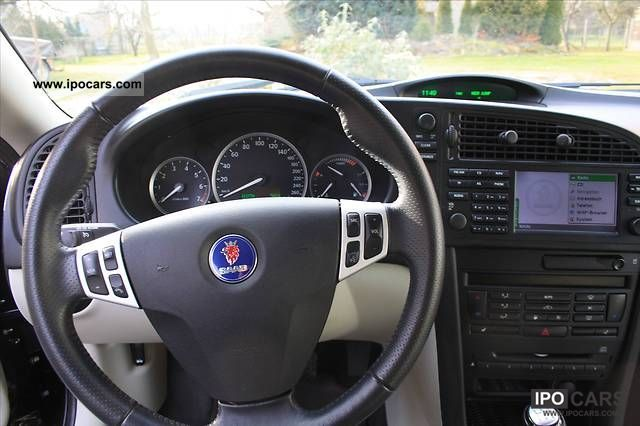 2005 Saab 9 3 2 0t Vector Xenon Navi Leather Telephone