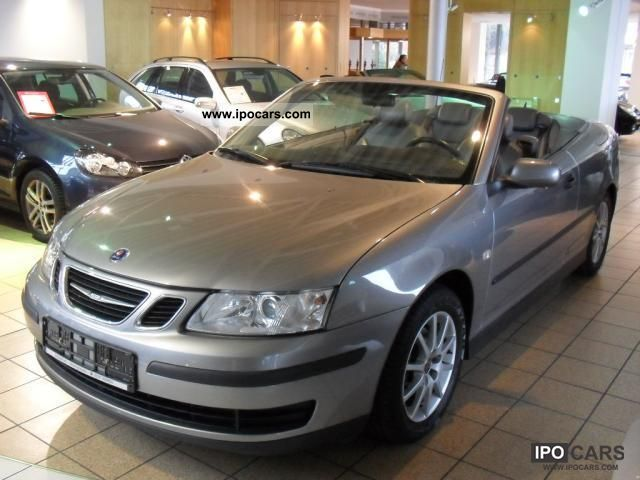 2004 Saab  9-3 Vector Convertible 1.8 t / LEATHER / NaviPLUS Cabrio / roadster Used vehicle photo