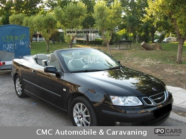 2006 Saab  9-3 Convertible Linear 2.0 T Cabrio / roadster Used vehicle photo