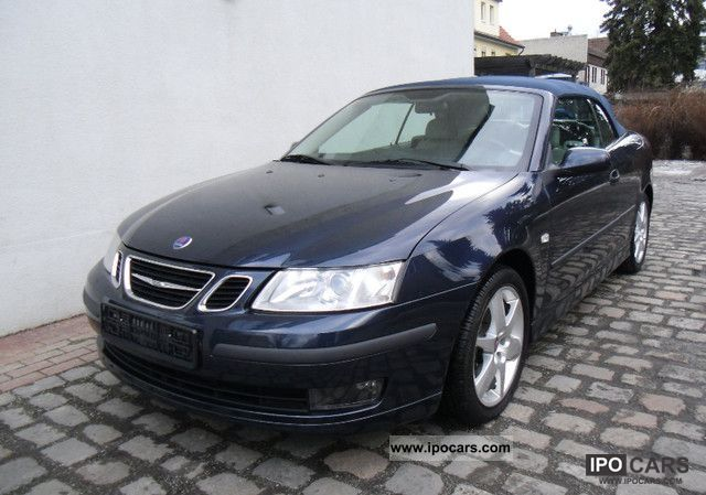 2003 saab 9 3 2 0 vector t convertible 42000km leather bi car photo and specs. Black Bedroom Furniture Sets. Home Design Ideas