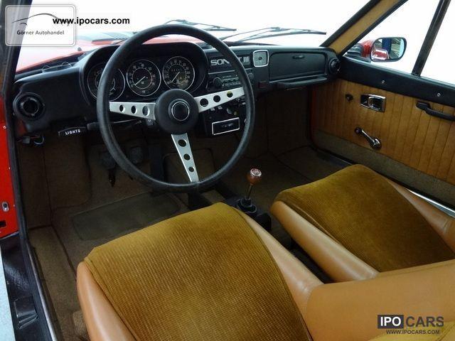 1973 Saab Sonett Iii With H Classic Car Number Plates
