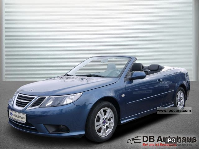 2008 Saab  9-3 Convertible Vector 1.8 T Leather / Klimaau / PDC Cabrio / roadster Used vehicle photo