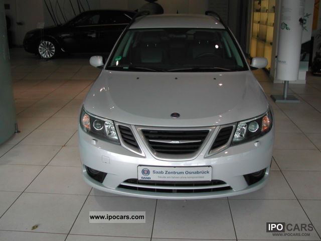 Saab  9-3 1.8t Sport-Kombi ScandicBio Power 2008 Ethanol (Flex Fuel FFV, E85) Cars photo