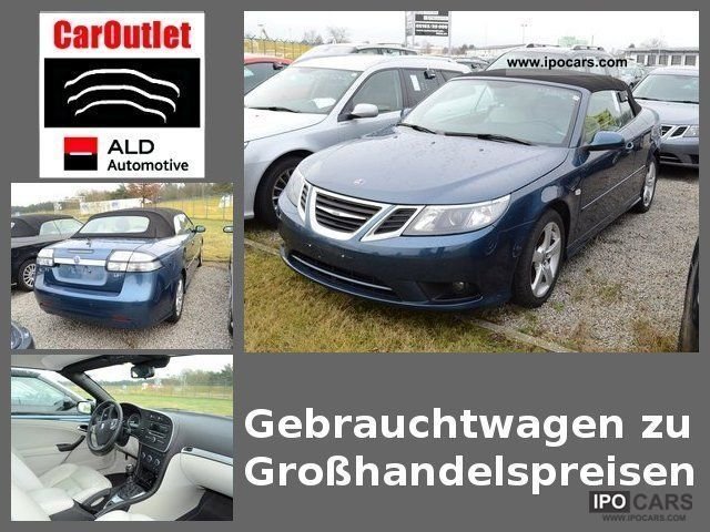 2008 Saab  9-3 convertible 1.8 t vector Cabrio / roadster Used vehicle photo