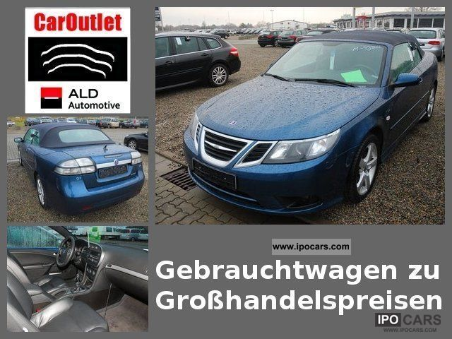 Saab  9-3 1.8t BioPower Vector Convertible 2 doors 129kw 2009 Ethanol (Flex Fuel FFV, E85) Cars photo