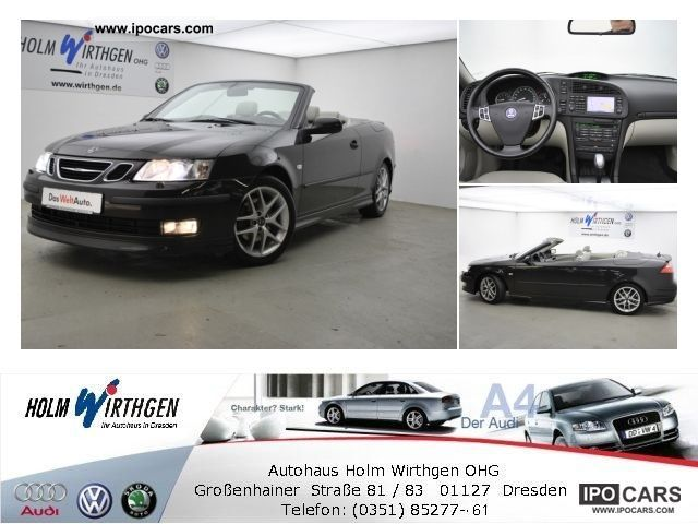 2005 Saab  9-3 Convertible Aero 2.0 T Cabrio / roadster Used vehicle photo