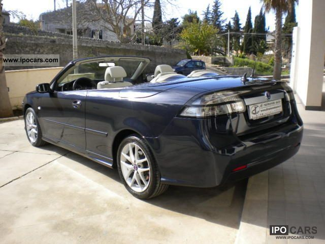 2008 Saab  9-3 Cabr.1.9TiD16V DPF vector Autom_Navigatore Cabrio / roadster Used vehicle photo
