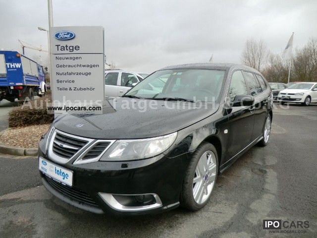 2008 Saab  2.8 Turbo V6 Aero XWD Sport Wagon navigation Estate Car Used vehicle photo