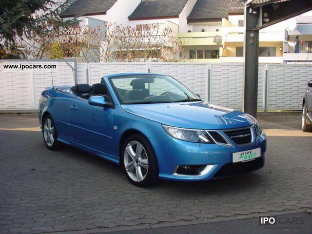 2008 Saab  9-3 Aero TTiD Aut. Navi, leather, aluminum, Cabrio / roadster Used vehicle photo