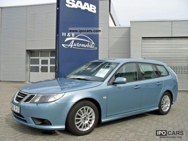 Saab  9-3 2.0t Sport-Kombi Scandic BP / Xenon 2008 Ethanol (Flex Fuel FFV, E85) Cars photo