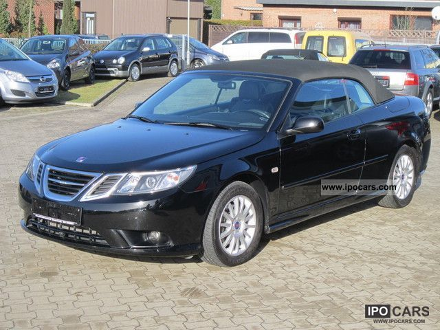 2010 Saab  9-3 Vector Convertible Leather 1.9TTiD / 1.Hand Cabrio / roadster Used vehicle photo
