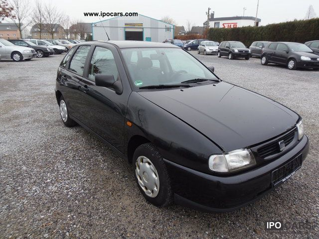 1998 seat ibiza se 1 4 car photo and specs. Black Bedroom Furniture Sets. Home Design Ideas