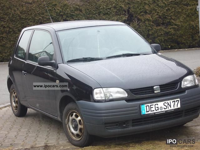 1997 seat arosa 1 0 mpi car photo and specs. Black Bedroom Furniture Sets. Home Design Ideas