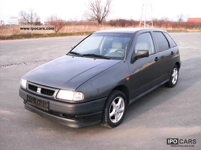 1997 seat ibiza 5 doors euro2 car photo and specs. Black Bedroom Furniture Sets. Home Design Ideas