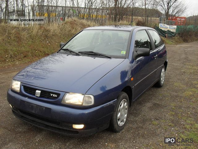 1997 seat ibiza 1 9 se car photo and specs. Black Bedroom Furniture Sets. Home Design Ideas