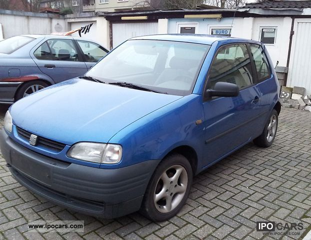 1998 seat arosa 1 0 mpi car photo and specs. Black Bedroom Furniture Sets. Home Design Ideas