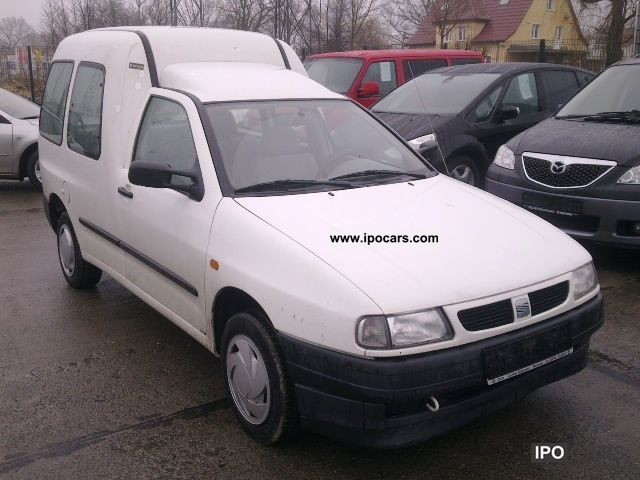 2002 Seat  Inca Combi 1.4 MPI Estate Car Used vehicle photo