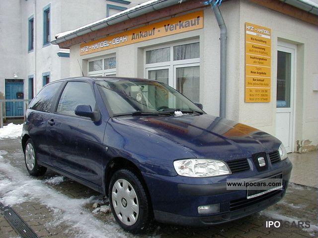 Célèbre 2000 Seat Ibiza 1.6 Signo - Car Photo and Specs OA37