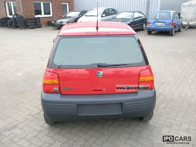 1999 seat arosa 1 0 basis car photo and specs. Black Bedroom Furniture Sets. Home Design Ideas